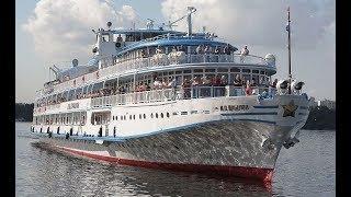 Cruise Ship I.A. KRYLOV on Volga river