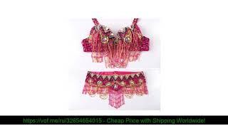 ☀️ 11 Цвет костюм для восточного танца костюм комплект из 2 предметов бюстгальтер набедренный пояс