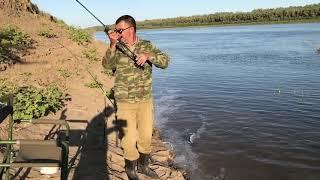 Рыбалка на спиннинг. Клев от которого устаешь. Ахтуба 2019 осень.