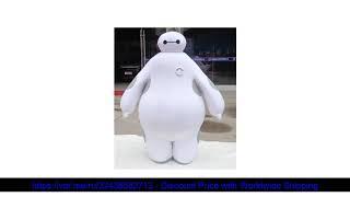☀️ BING RUI CO 100% реальные изображения костюм большой герой 6 костюм талисмана Baymax мультфильм