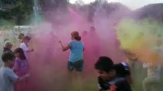 Фестиваль красок Холи в с. Черноречье