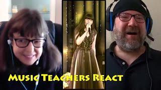 Music Teachers React to Diana Ankudinova Take On Me Live Reaction Collab & Review Диана Анкудинова