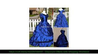 ☀️ 1860 S Викторианский готический корсет/Civil War Southern Belle бальное платье Хэллоуин платья н