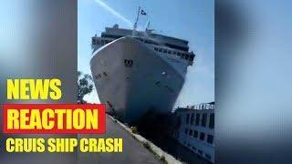 Cruise ship msc opera crashes into venice- news reraction