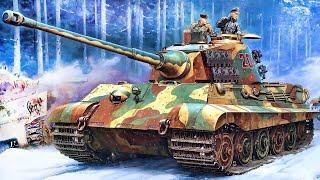 Немецкий тяжелый танк Тигр II. Panzerkampfwagen Tiger Ausf.B -Tiger II Königstiger
