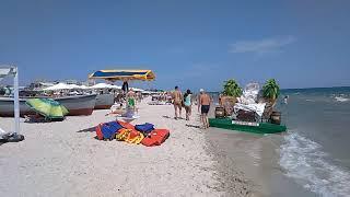 Пляжи Лазурного. Отдых и цены июнь 2018