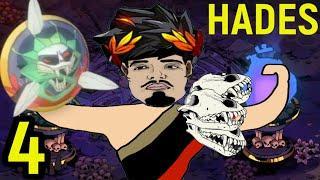 #4 ИГРА СО ЩИТОМ ХАОСА, ДАРЫ АФРОДИТЫ И ГЕРМЕСА - Hades прохождение / Аид / Хейдес