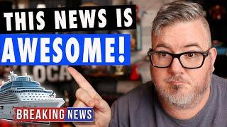 BREAKING CRUISE NEWS - NEW HOPE FOR US CRUISES #shorts