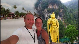 Малайзия! Попали в грозу! Пещеры Бату - must see в Куала Лумпуре!