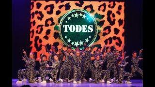 """""""Попурри"""", группа Подростки школа танца TODES-Калуга, летний отчетный концерт, 08 июня 2019"""