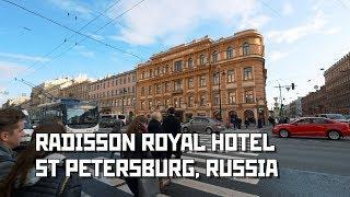 """""""Radisson Royal"""" Hotel at Nevsky Ave., St Petersburg, Russia"""