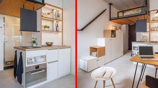 Amazing Space Saving Ideas and Home Designs - Smart Furniture ▶7