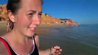 Едем на пляж Фалезия   Купаемся в океане   Завтрак за 5 Евро в Португалии