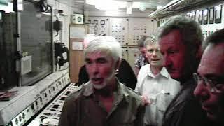 Машинное отделение на теплоходе Феликс Дзерджинский
