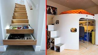 Amazing Space Saving Ideas -Smart Furniture