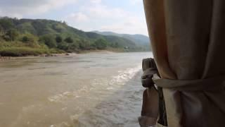 River Mekong cruise on a boat.