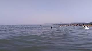 Пляжи п. Манас, июль 2018 | Каспийское море, лучшие пляжи Дагестана