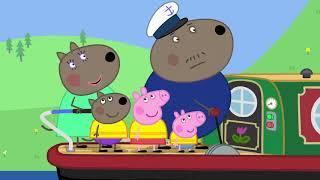 18 Peppa Pig Canal Boat Свинка Пеппа Круиз по каналу