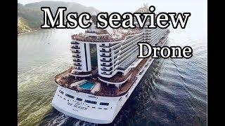 MSC Seaview drone