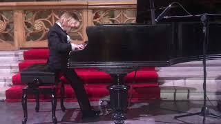 Elisey Mysin (8) at his first solo concert. Tchaikovsky, Russian Dance. Елисей Мысин, Чайковский