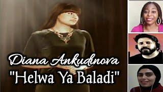 Diana Ankudinova ( HELWA YA BALADI) Reaction Compilation