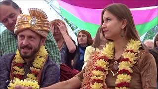 FESTIVAL of INDIA in Moscow.  ИНДИЙСКАЯ (ВАЙШНАВСКАЯ) СВАДЬБА. ФЕСТИВАЛЬ ИНДИИ в Москве. 2019-08-11