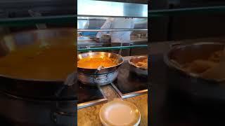 Lunch Buffet on Cruise Ship