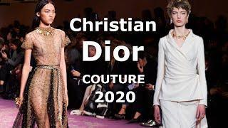 Christian Dior Couture Модная весна-лето 2020 в Париже / Одежда и аксессуары