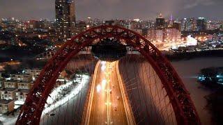 Москва, Живописный мост, 08.03.2021 (Moscow, Zhivopisny bridge)