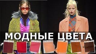 Модные цвета осень 2019 зима 2020 по версии Pantone Одежда и обувь