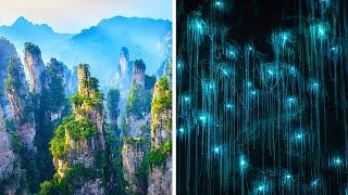 14 мест на Земле, которые выглядят так, словно они с другой планеты!