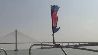 РЕКА МЕКОНГ. КАМБОДЖА. КРУИЗ из ПНОМПЕНЯ во ВЬЕТНАМ (Mekong River. Cambodia)
