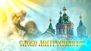 Слово митрополита. Выпуск от 1 января 2020 г.