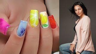 ОНЛАЙН! Дизайн Ногтей с Базой для Растекания/ Топ удивительный дизайн ногтей/  Виктория Авдеева