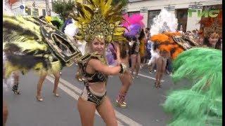 Бразильские ритмы в центре Самары
