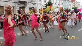 Годовщину ЧМ-2018 в Самаре отметили карнавалом