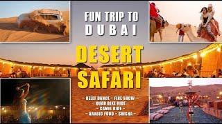 Dubai Desert Safari and Belly Dancing