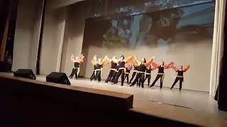 """Архив. Афро-самба, старшая группа на фестивале танца """"Счастье"""", Петрозаводск 26.02.2017"""