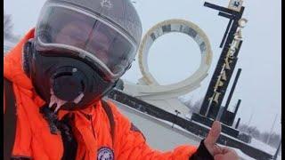 Профессиональный каскадёр,двукратный рекордсмен Книги Гиннеса - об удивительном путешествии на Ямал