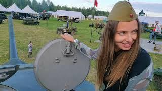 Ралли на раритетных авто! Катание на танках!  Фестиваль Моторы Войны. Уникальная техника времен ВОВ!