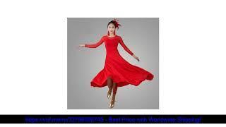 ⭐️ 2018 Бальные платья для бальных танцев конкуренции платья Вальс платье костюм Danse 4 цвета флам