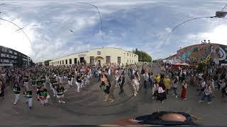 360 / Vulica Brasil 2019 - Шествие Барабанщиков / ул. Октябрьская