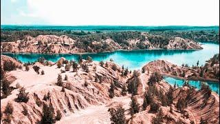 ГОЛУБЫЕ ОЗЕРА: Самые необычные места в России, которые стоит увидеть!  Романцевские горы. Кондуки.