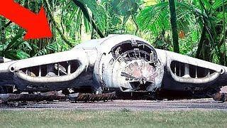 10 Самых Загадочных Заброшенных Самолетов