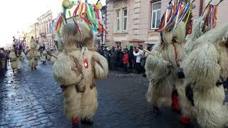 Словенські кукери завітали до Чернівців на Маланка фест