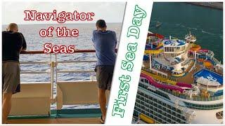 Navigator of the Seas | Christmas Cruise | 1st Sea Day - Ep.2