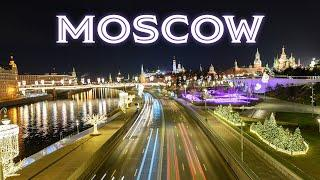 Magical Moscow in 2020 -  A Rare Glimpse at the Winter Capital Without Snow (4K UHD)