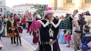 Венецианский карнавал, в котором участвуют все страны мира