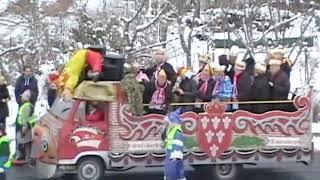 Развлекательное карнавальное шествие. 1/4 Fasching - HELAU