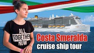 Costa Smeralda Cruise Ship Tour Review March 2020